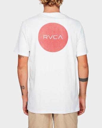 3 Motors Badge Short Sleeve T-Shirt  R192059 RVCA