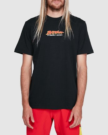 1 Sea Of Flames Short Sleeve Tee Black R192064 RVCA