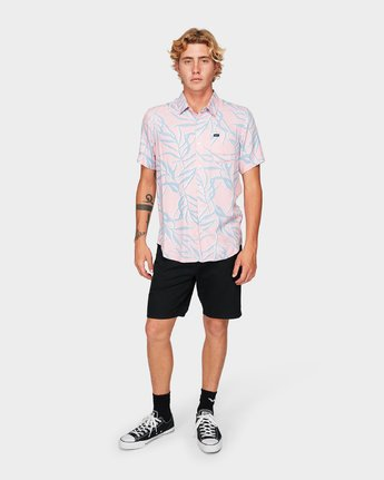 4 Paradiso Palm Short Sleeve Shirt  R192182 RVCA