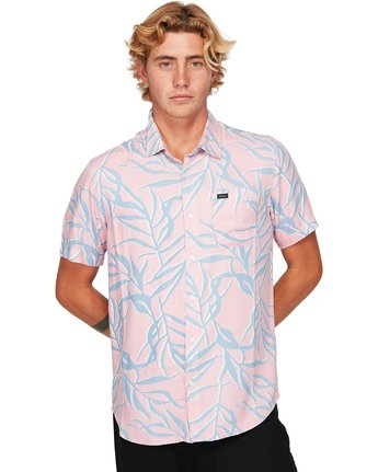 1 Paradiso Palm Short Sleeve Shirt  R192182 RVCA