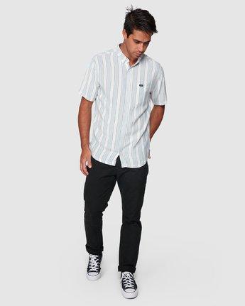 5 Caravan Stripe Short Sleeve Shirt  R192185 RVCA