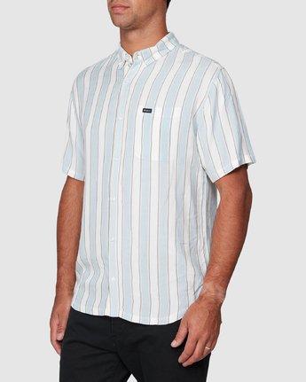 2 Caravan Stripe Short Sleeve Shirt  R192185 RVCA