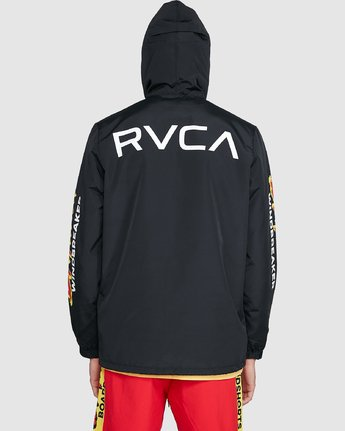 4 Tower 12 Windbreaker Black R192431 RVCA