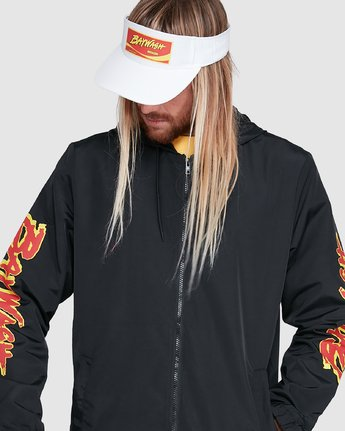 5 Tower 12 Windbreaker Black R192431 RVCA