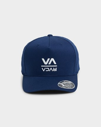 1 Down The Line Pinched Trucker Cap  R192565 RVCA