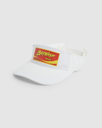 0 Rookie Of The Year Visor White R192574 RVCA
