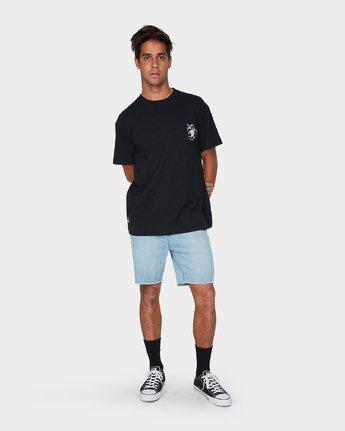 3 Mono Flower Short Sleeve T-Shirt  R193044 RVCA