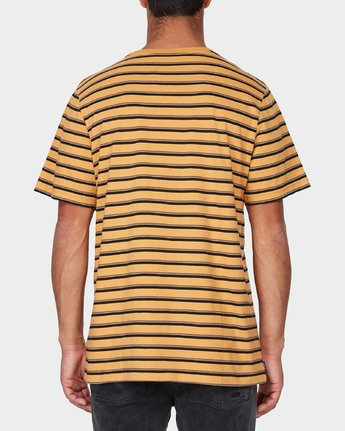 2 Slasher T-Shirt Yellow R193048 RVCA