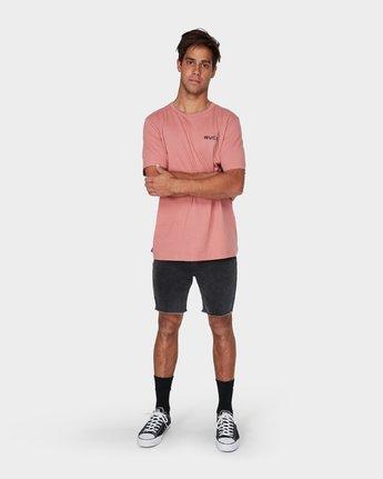 3 RVCA Keyliner Short Sleeve T-Shirt  R193050 RVCA