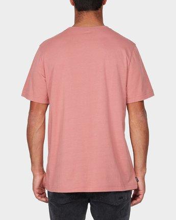 2 RVCA Keyliner Short Sleeve T-Shirt  R193050 RVCA