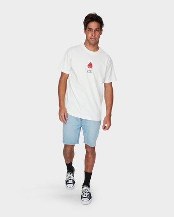 3 Foliage Short Sleeve T-Shirt  R193053 RVCA