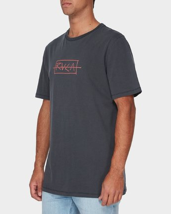 1 RVCA Samurai Short Sleeve T-Shirt  R193054 RVCA