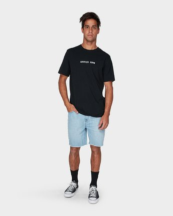 3 Scratch Short Sleeve T-Shirt  R193063 RVCA