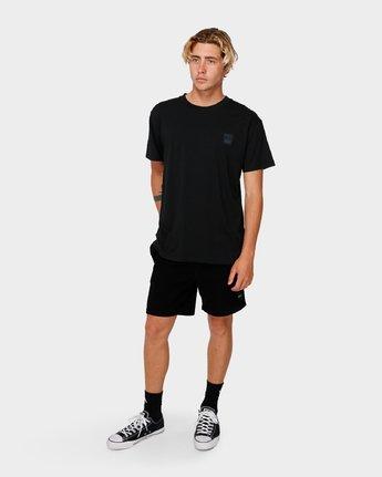4 RVCA X Highline T-Shirt Black R193066 RVCA