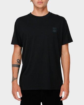 1 RVCA X Highline T-Shirt Black R193066 RVCA