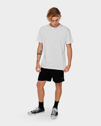 4 Va X Highline Horse T-Shirt White R193067 RVCA