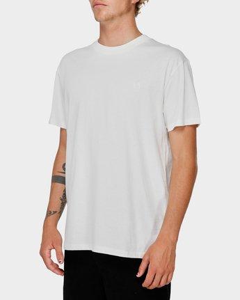 2 Va X Highline Horse T-Shirt White R193067 RVCA