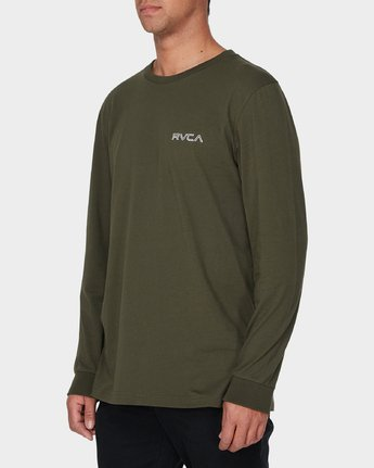 1 RVCA Keyliner Long Sleeve T-Shirt  R193094 RVCA
