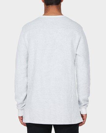 2 Motors Waffle Long Sleeve T-Shirt  R193104 RVCA