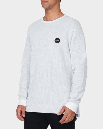 1 Motors Waffle Long Sleeve T-Shirt  R193104 RVCA