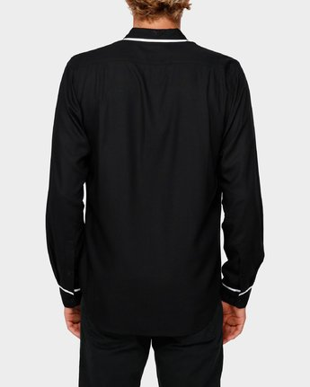 3 RVCA X Highline Shirt Black R193189 RVCA