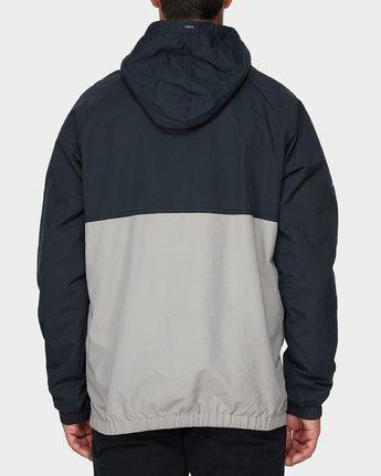 2 Easy As Half Zip Jacket Black R193433 RVCA