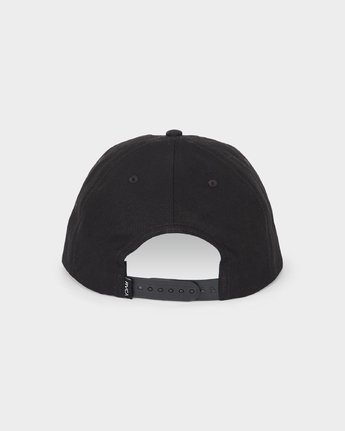 2 Scum Cap Black R193566 RVCA