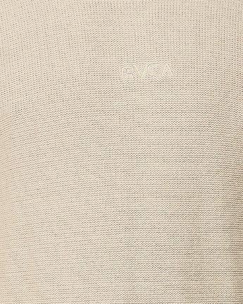 4 RVCA Pigment Knit Yellow R193701 RVCA