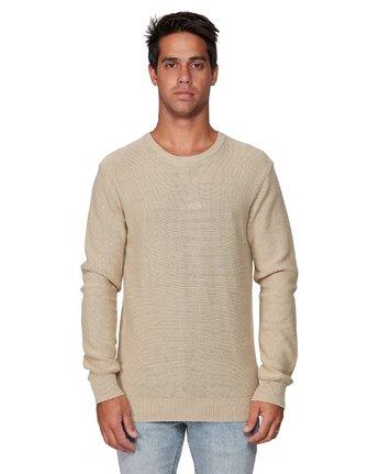 1 RVCA Pigment Knit Yellow R193701 RVCA