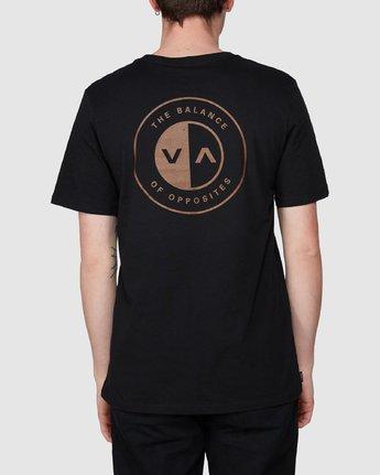 2 Club T-Shirt Black R194041 RVCA