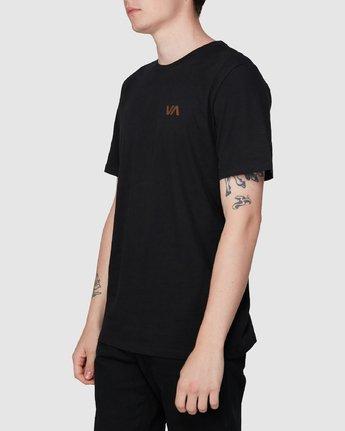 1 Club T-Shirt Black R194041 RVCA