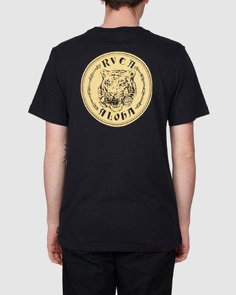 3 RVCA Aloha Benj Short Sleeve T-Shirt  R194042 RVCA