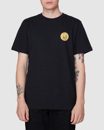 1 RVCA Aloha Benj Short Sleeve T-Shirt  R194042 RVCA