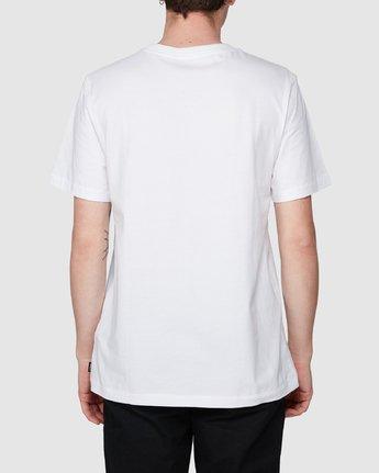 2 Benj Tiger Short Sleeve T-Shirt  R194043 RVCA
