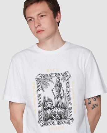 3 Benj Tiger Short Sleeve T-Shirt  R194043 RVCA