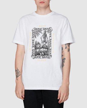 0 Benj Tiger Short Sleeve T-Shirt  R194043 RVCA