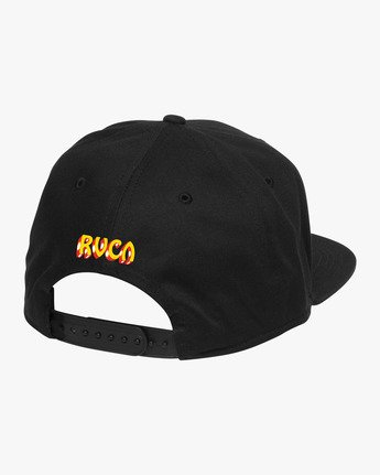 1 Matty's Patty's Snapback Black R194561 RVCA
