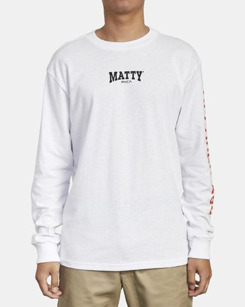 2 Matty Matheson - Long Sleeve T-Shirt for Men  R1LSMARVW9 RVCA