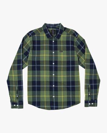 Kevin Spanky Okapi Plaid - Long Sleeve Shirt for Men  R1SHRBRVW9