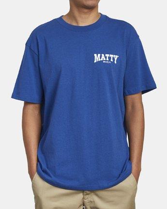2 Matty Matheson - T-Shirt for Men Blue R1SSMCRVW9 RVCA