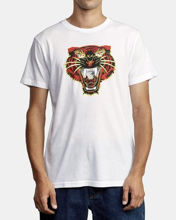 1 Ben Venom Night Lurker - T-Shirt for Men White R1SSRARVW9 RVCA