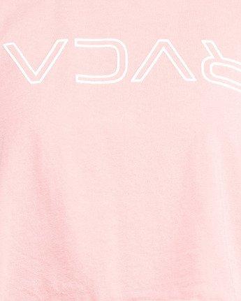 5 Flip N Flock Keyline Muscle Top Pink R205661 RVCA