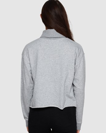 2 Balance Turtleneck Grey R207153 RVCA