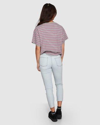 2 Smitten Jean Pants - Bleachout White R207222 RVCA