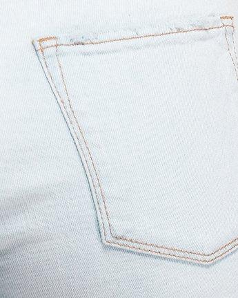 5 Smitten Jean Pants - Bleachout White R207222 RVCA