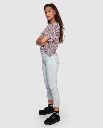 1 Smitten Jean Pants - Bleachout White R207222 RVCA