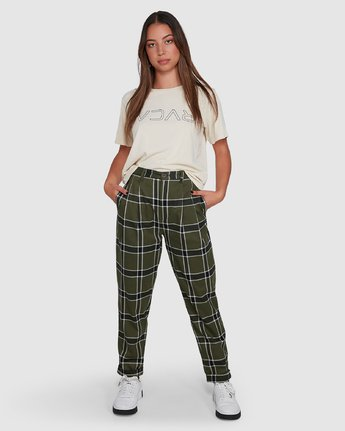 PLAID PLAYA PANT  R207272
