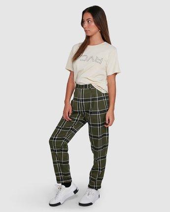 1 Plaid Playa Pants Green R207272 RVCA