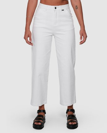3 Fresh Prince Pants White R207277 RVCA