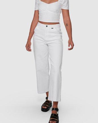4 Fresh Prince Pants White R207277 RVCA